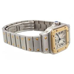 Cartier Stainless Steel Yellow Gold Galbee Rotonde Watch