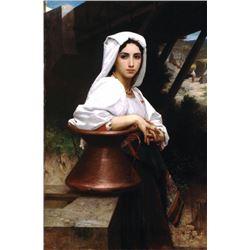 William Bouguereau - Italian Girl Drawing Water