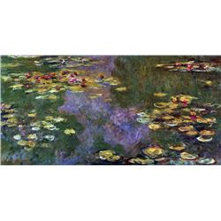 Claude Monet - Water Lily Pond, Giverny