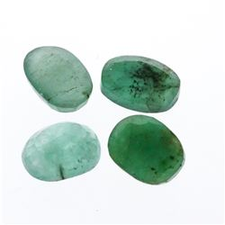 5.10 cts. Oval Cut Natural Emerald Parcel