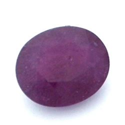 13.01 ctw Oval Ruby Parcel