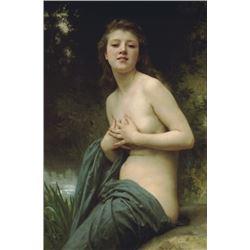 William Bouguereau - Spring Breeze