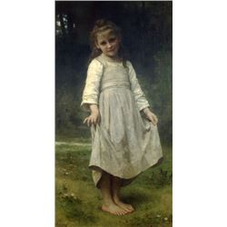 William Bouguereau - The Curtsey
