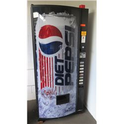 Beverage Vending Machine, Dixie-Narco Model DNCB440MC/252-8