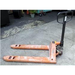 Industrial Pallet Jack, 5500 Lbs Capacity, Model TS55