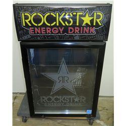 IDW Model GCG-6C Beverage Cooler Refrigerator 'Rockstar Energy Drink' Logo
