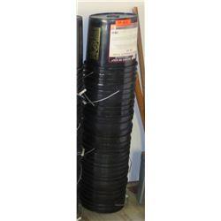 Qty 10 Black Plastic 5-Gallon EMPTY Buckets