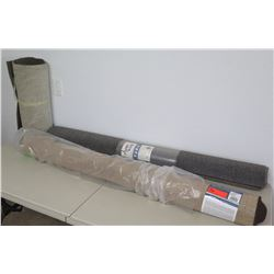Qty 3 Rolls Area Rugs: Home Accents 5'x7', Mohawk 5'x8' & Short Roll