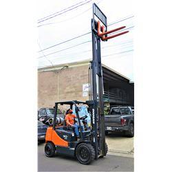 Doosan G30P-5 Dual-Fuel Reconditioned Forklift 5300 lb Capacity, 1431 Hrs