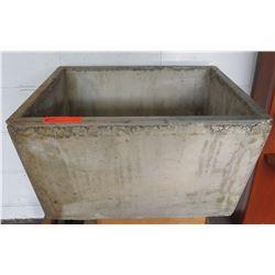"""Concrete 20""""x24""""x`4"""" Deep Sink"""
