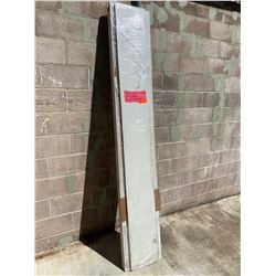 Todco Truck Rear Roll-Up Door Panels (3 Panels). Each panel approx. 7'