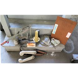 Misc Auto Equipment:  Gear Press, Jack, Clamps, etc