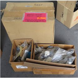 Qty 3 Boxes Various Nissan Forklift Parts