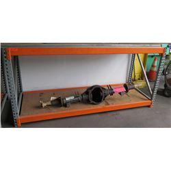 Adjustable Short Orange Metal Warehouse Pallet Rack Shelving