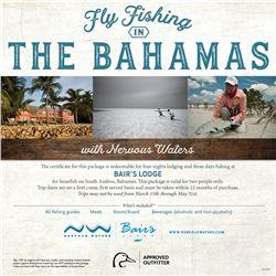 Bahamian Bonefishing for Two
