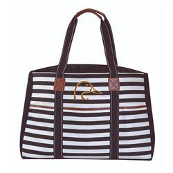 Ladies' Striped Bag Set