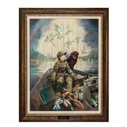 Greenwing Legacy Canvas by Ralph McDonald