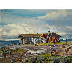 Homesteadin' by Conrad Schwiering (1916-1986)