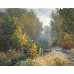 Early October by Clyde Aspevig (1951- )