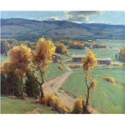 Late September, Star Valley by Scott Christensen (1962- )
