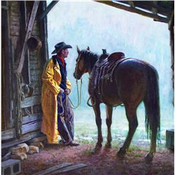 Storm Delay by Martin Grelle (1954- )