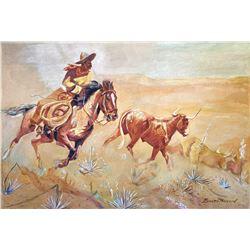 Untitled (Vaquero) by Edward Borein (1872-1945)