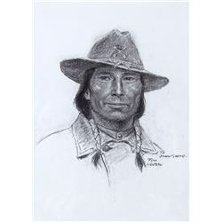 Pawnee Scout by Tom Lovell (1909-1997)