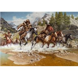 Out of the High Lonesome by Frank McCarthy (1924-2002)