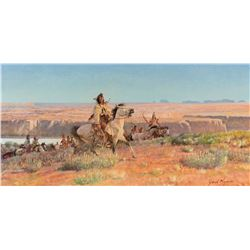 Hunting Country by John Clymer (1907-1989)