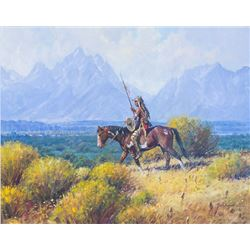 Lone Wolf by Martin Grelle (1954- )