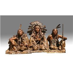 1876, Gall - Sitting Bull - Crazy Horse by John Coleman (1949- )
