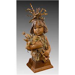 Little Hopi Clowns by John Coleman (1949- )