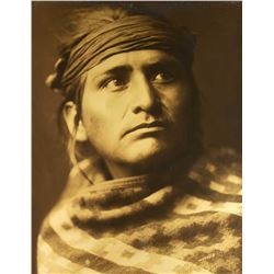 Chief of the Desert by Edward S. Curtis (1868-1952)