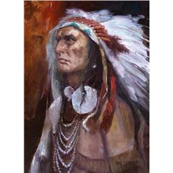 Chief Touch the Clouds by Bert Geer Phillips (1868-1956)