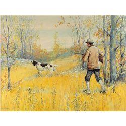 Fall Shooting by Arthur Burdett Frost (1851-1928)
