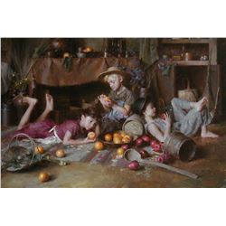 Apples and Oranges by Morgan Weistling (1964- )