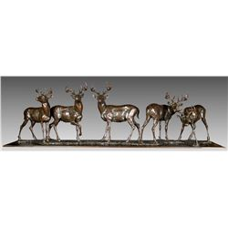Whitetail Deer by Mike Barlow (1963- )