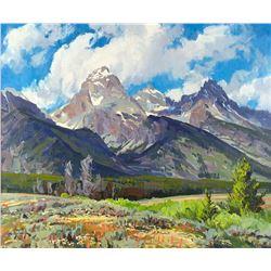 Mountain Glory by Conrad Schwiering (1916-1986)