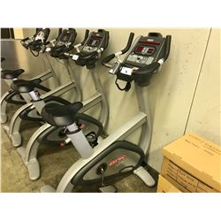 STAR TRAC PRO UPRIGHT EXERCISE BIKE WITH MEDIA CONTROLS