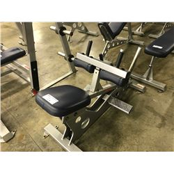 STAR TRAC CALF RAISE BENCH