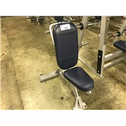 STAR TRAC VERTICAL BENCH