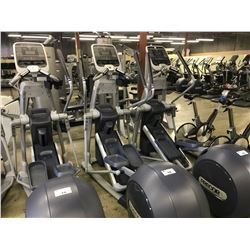 PRECOR EFX 576I ELLIPTICAL WITH CARDIO THEATRE MEDIA CONTROLS