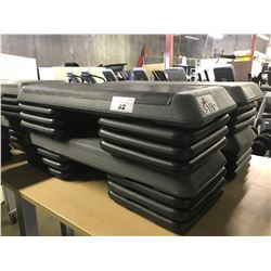 "LOT OF ""THE STEP"" RISERS AND PLATFORMS"