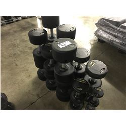 LOT OF ASSORTED WEIGHTS