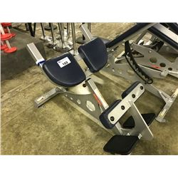 STAR TRAC INCLINE CRUNCH BENCH