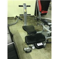 LIFE FITNESS WEIGHTED AB CRUNCH BENCH
