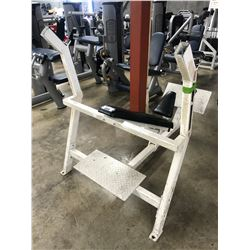BODY MASTERS INCLINE BENCH/RACK
