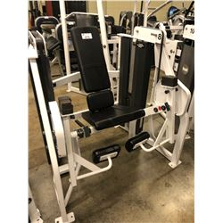 HAMMER STRENGTH LEG EXTENSION MACHINE