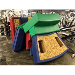 ASSORTED PADDED KIDS PLAY AREA