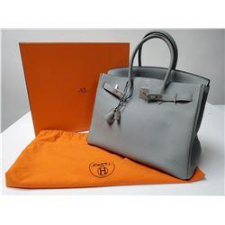 Hermes Dove Grey Birkin Bag 35cm